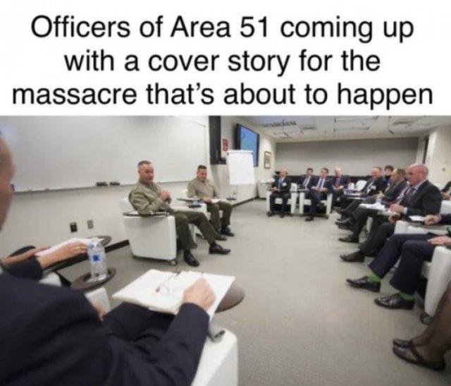 """""""Area 51"""" Raid Memes"""
