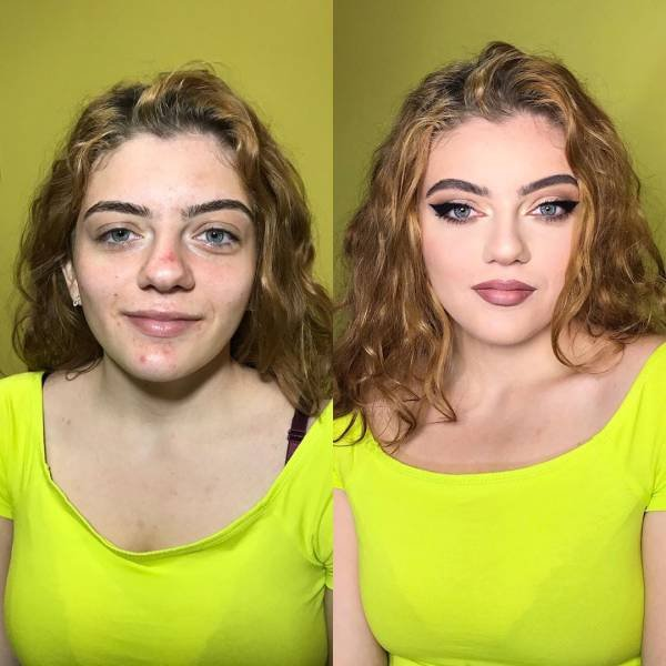 Makeup Can Change A Lot