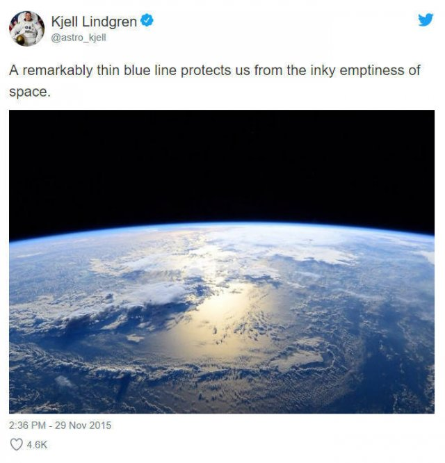 How Astronauts See Our Planet