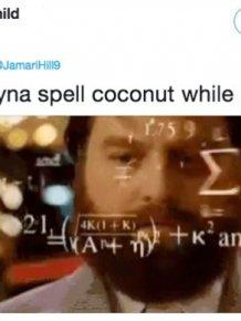 Spell Coconut Meme