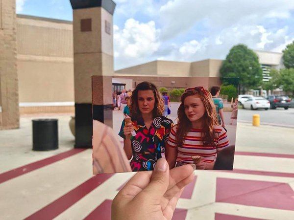Stranger Things 3 Location Mashups
