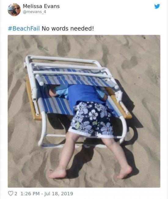 Beach Fails, part 2
