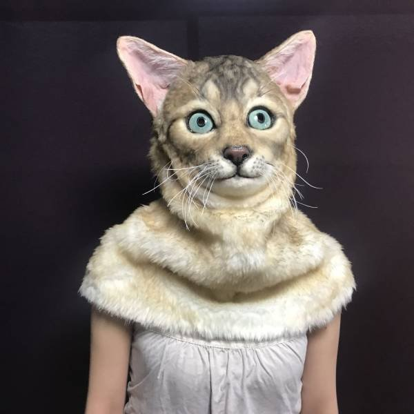 Realistic Pet Masks