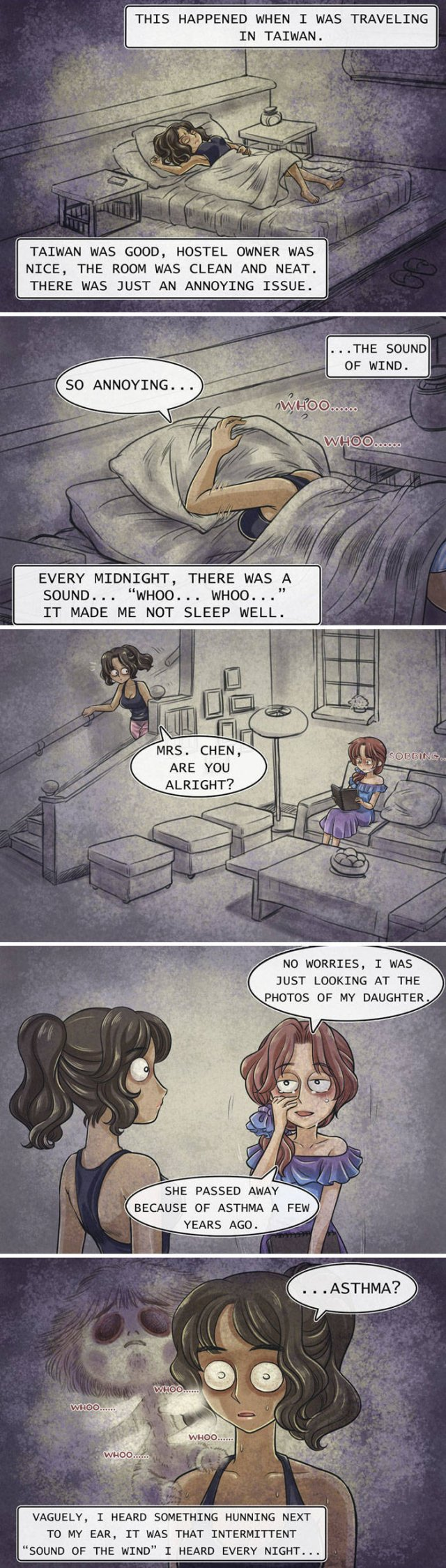 Very Scary Horror Comics With Unexpected Endings