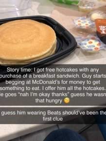 Beggars Can Be So Bad
