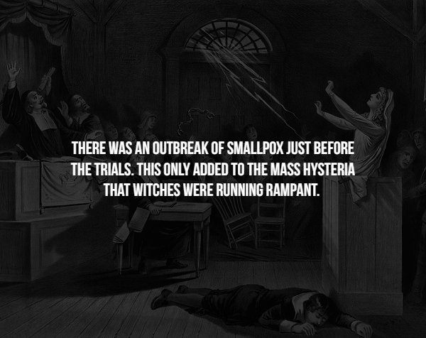 Facts About Salem Witch Trials
