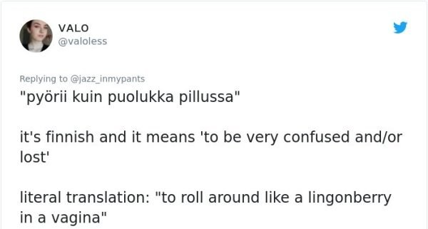 Weird Phrases Translated To English From Other Languages