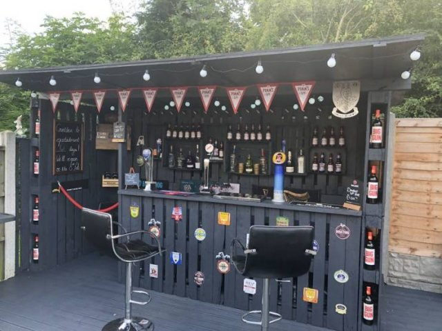 Bar From Pallets