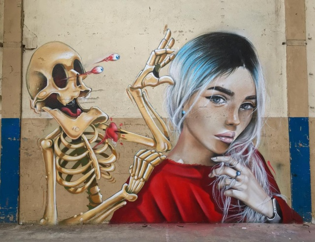 Graffiti by SCAF