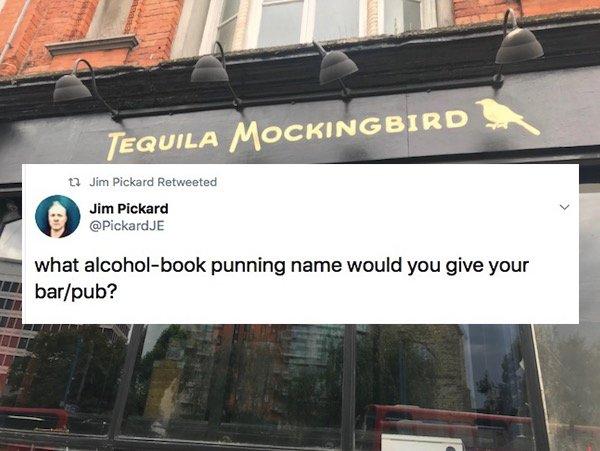 Punning Bar Names