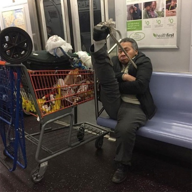 People On The Subway, part 2