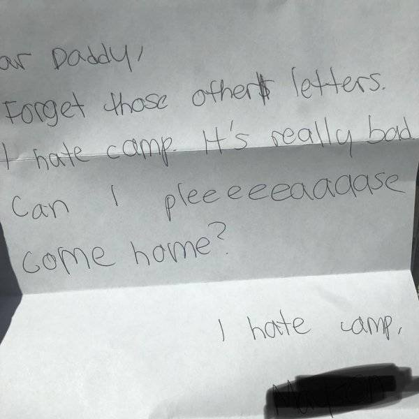 When Kids Are Really Unhappy With Their Camp