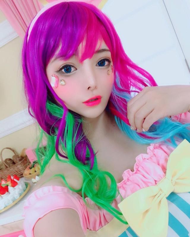 Anime Style Body Paint