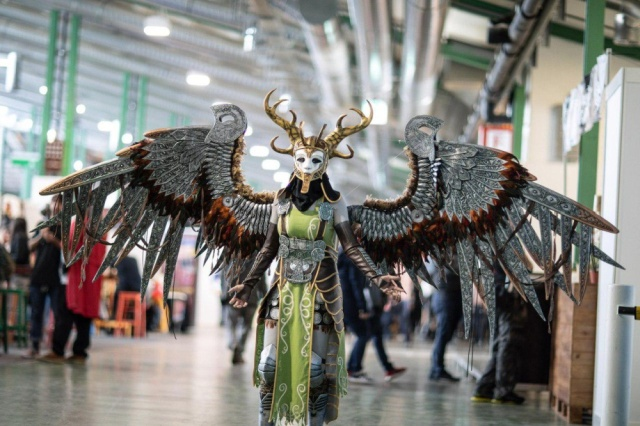 Cosplay Valkyrie From God Of War