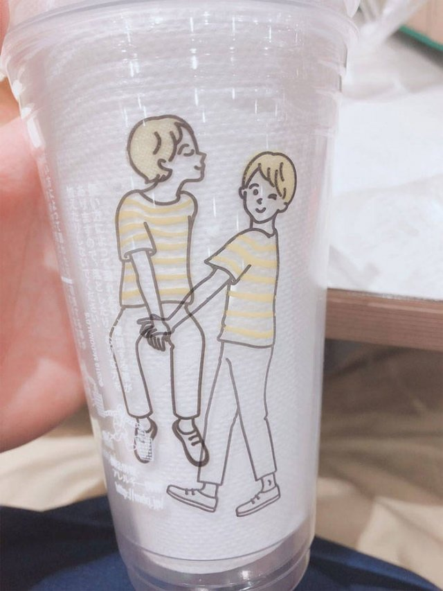 Japanese McDonald Introduced A New Cup Design...