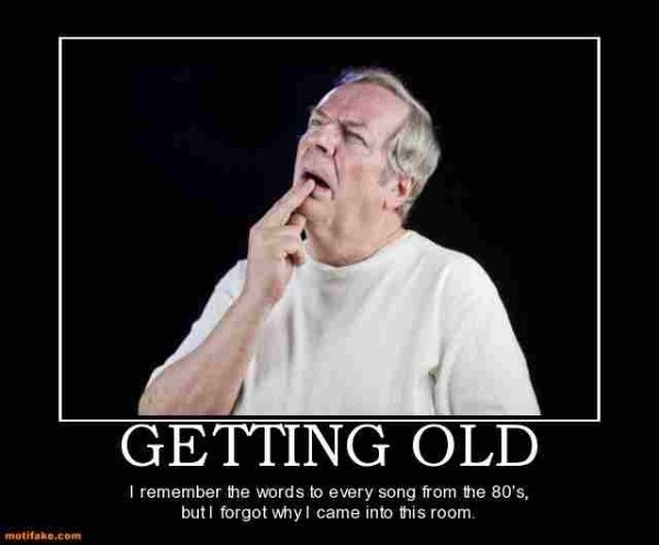 Memes About Getting Old