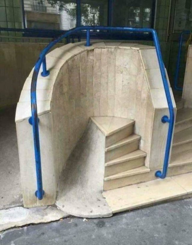 The Worst Stairs Ever. Which One Are Your Favorite?