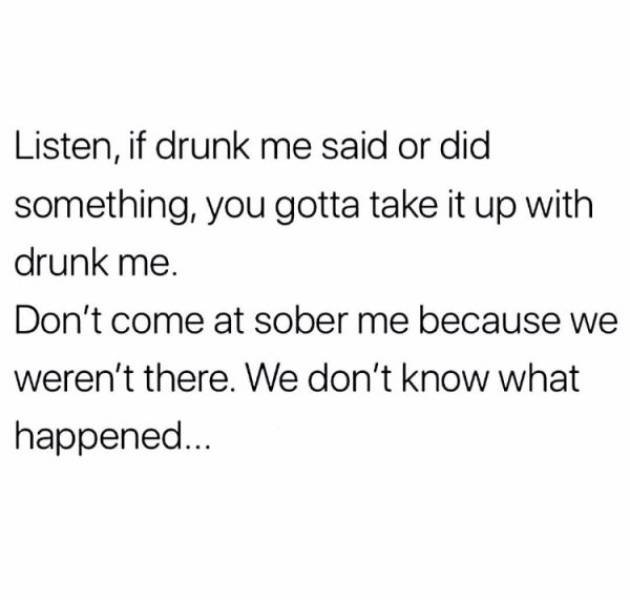 Drunk And High People