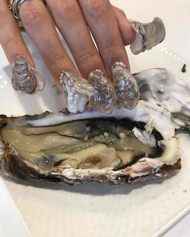 This Russian Nail Salon Makes The Weirdest Nails Ever