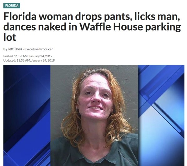Nothing New In Florida According To This Year's Headlines