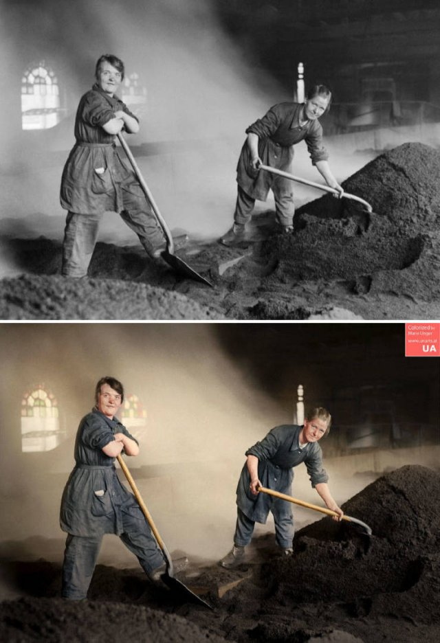 Colorized Vintage Photos
