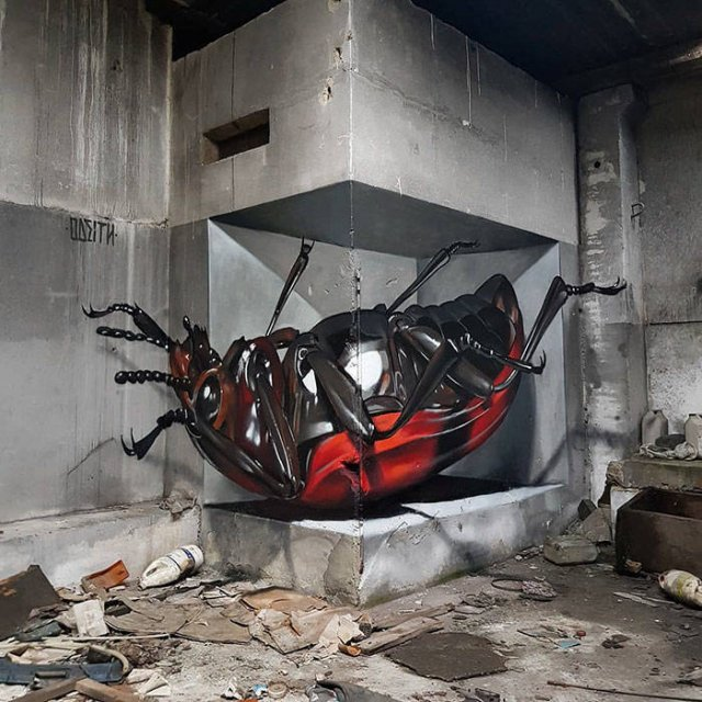 Great 3D Illusions By Meet Odeith