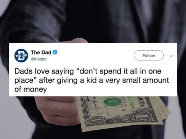 Dads Love Saying…