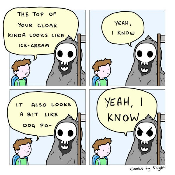 These Comics Are Strange