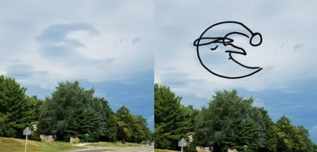 Can You See It In The Clouds Too?