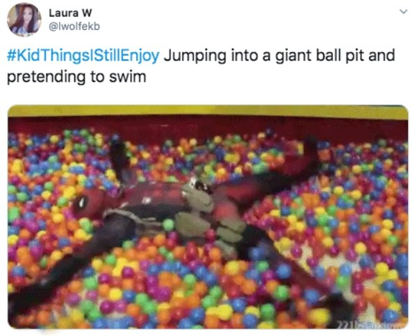 Kids Things That Adults Still Enjoy