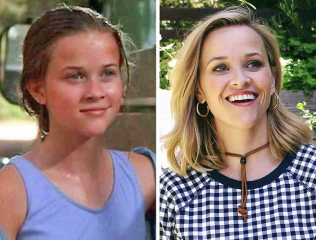 Celebs Then And Now, part 3