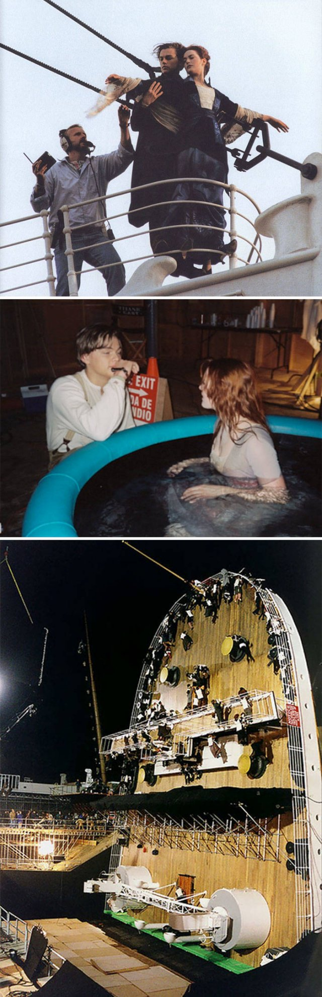 Behind The Scenes Of Famous Movies, part 3