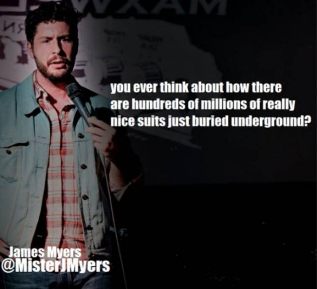 Stand-Up Comics Are Funny