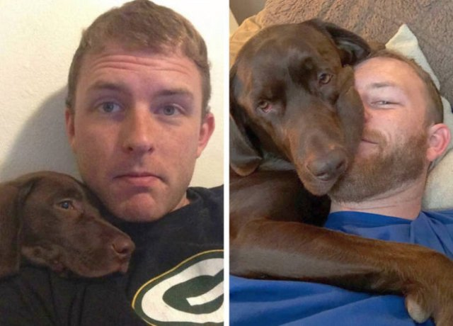 Owners And Pets Share Their Moments