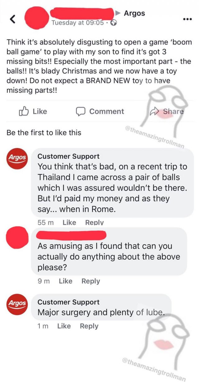 Got Trolled By Customer Support