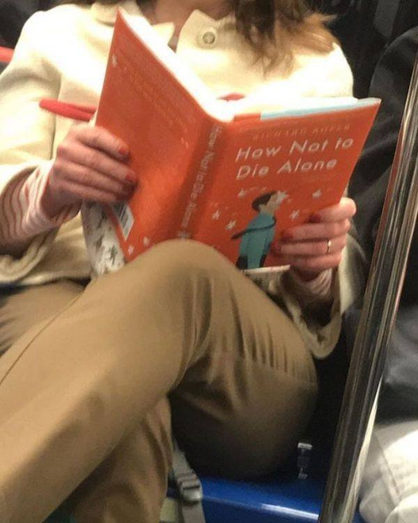What People Read On The Subway