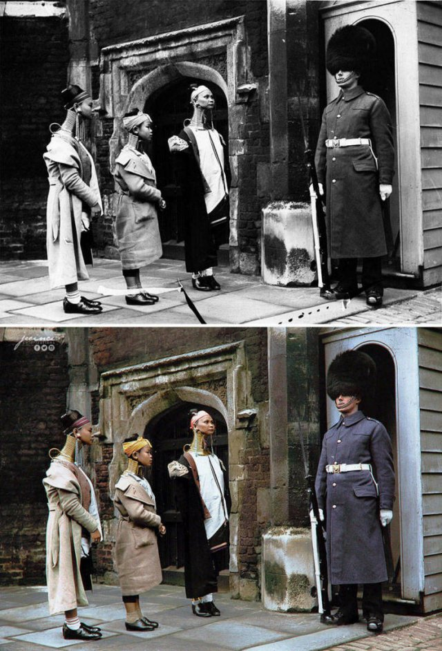 Colorized Black And White Historical Photos