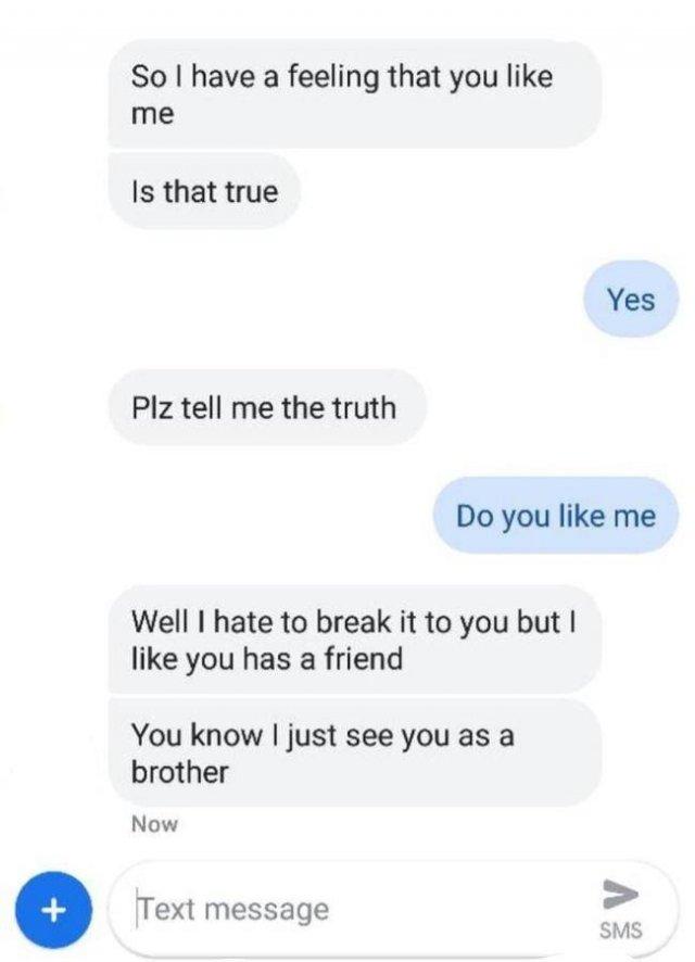 They Got Friendzoned