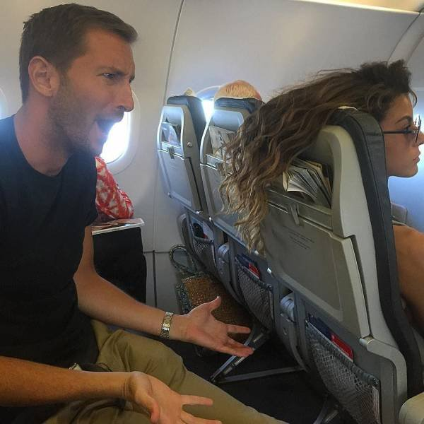 Funny And Scary Airplane Flight Moments