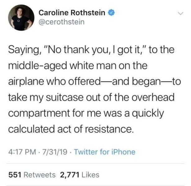 Let's Talk About Entitlement