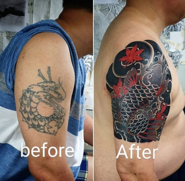 Awesome Tattoo Cover-ups