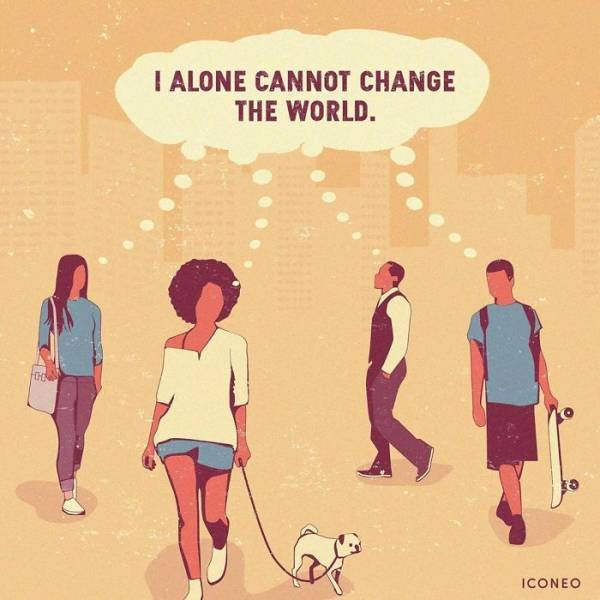 Brutally Honest Illustrations About Our World