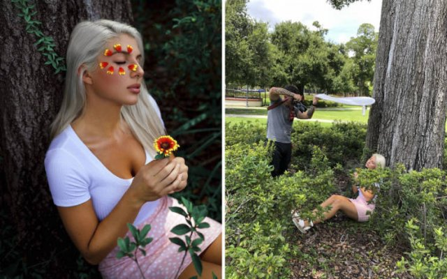 Photographer Geo Leon Shows How Perfect Photos Are Made