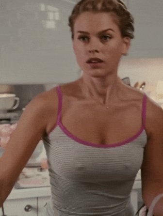 Braless Celebs In The Movies