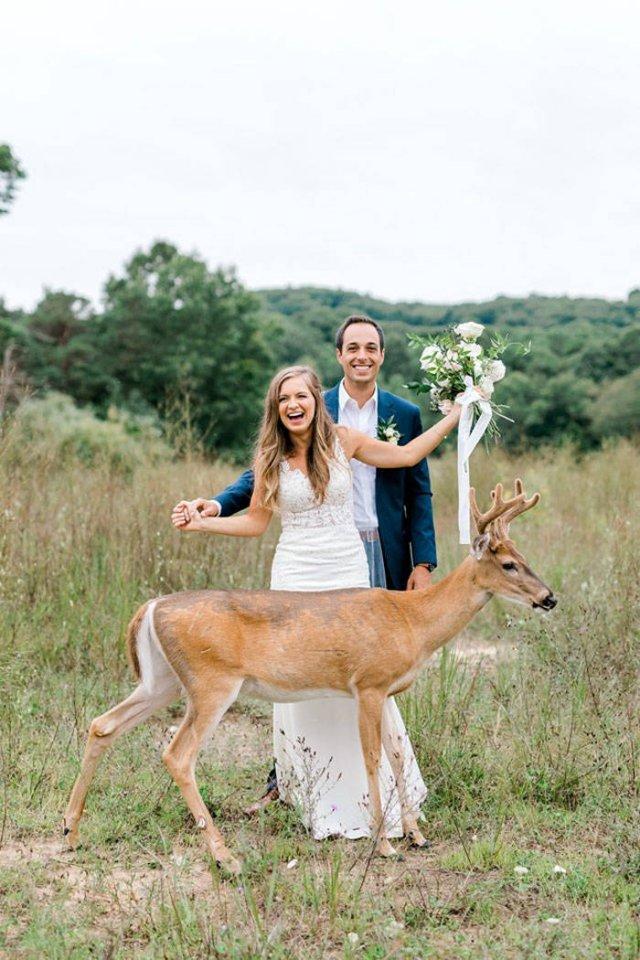 A Wedding Photoshoot Interrupted