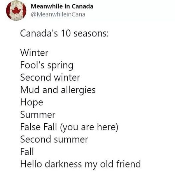 Welcome To Canada, part 5