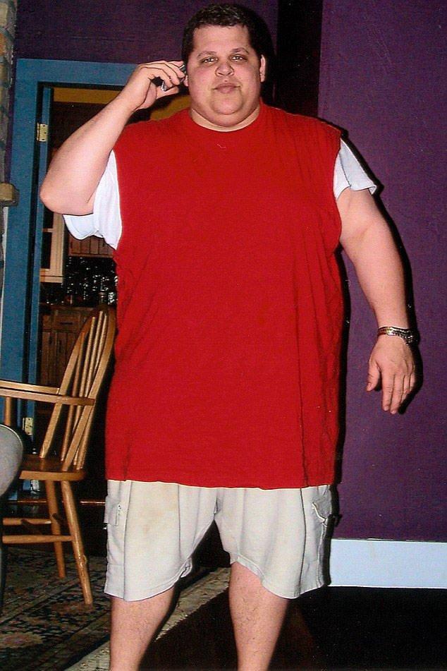 Man Loses 200 Pounds
