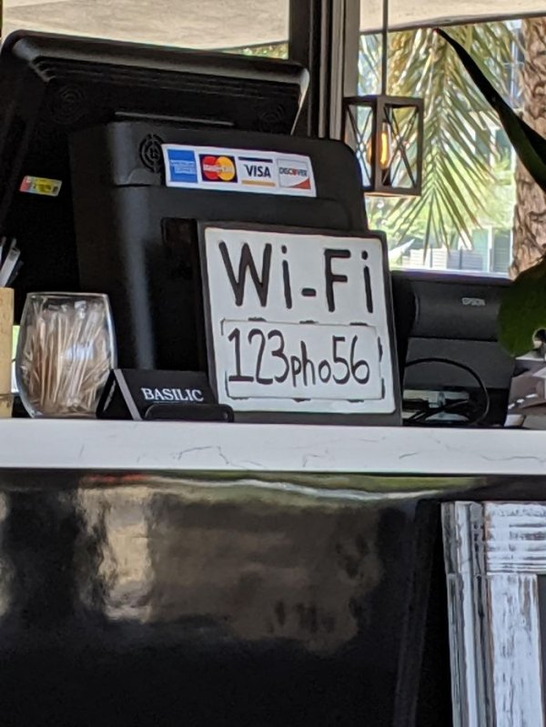 Clever Stuff In Bars And Restaurants