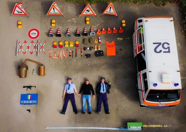 Emergency Service Vehicles From All Over The World And The Equipment Inside Them