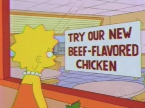 """Funny Signs On """"The Simpsons"""""""